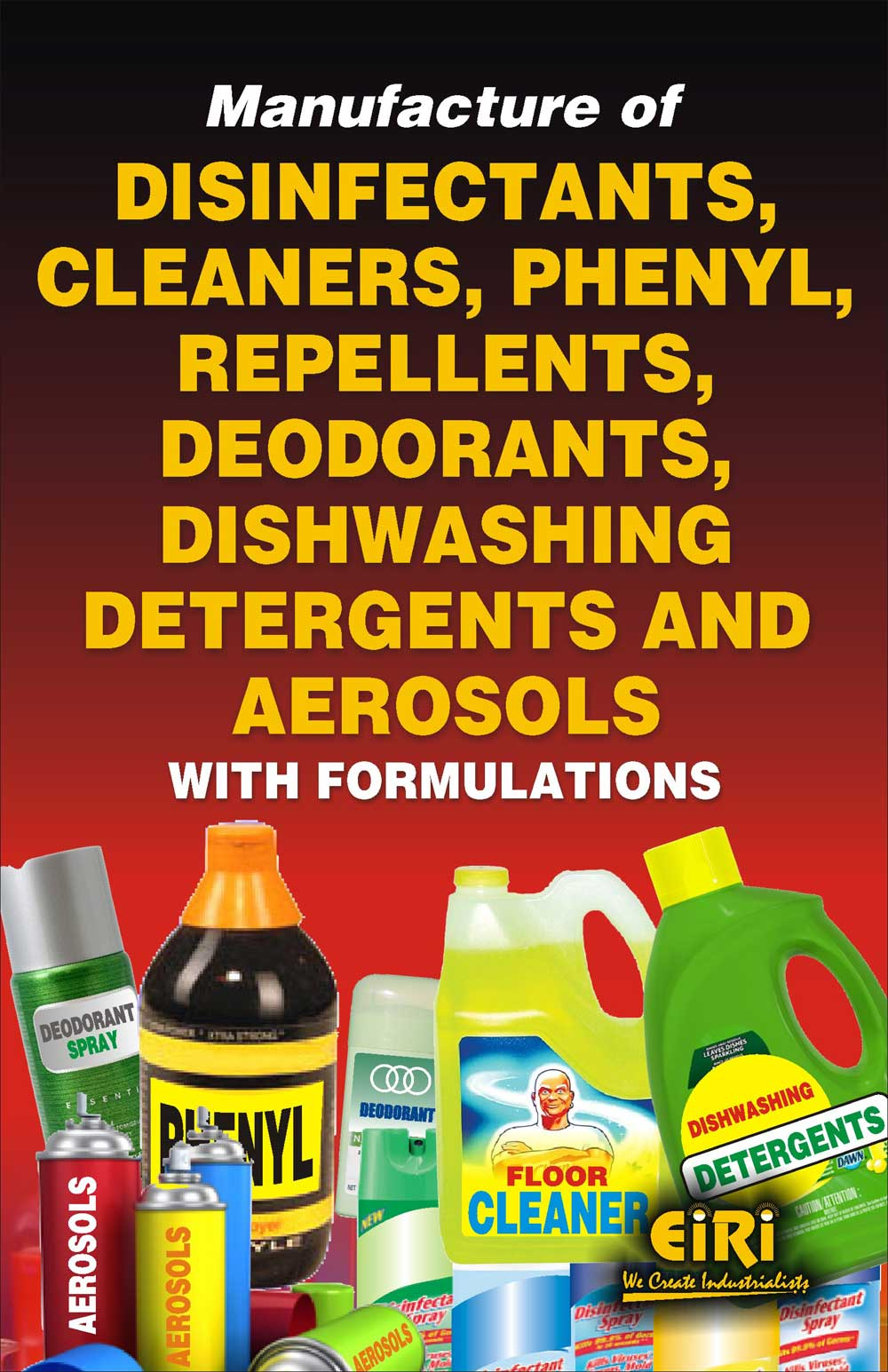 Handbook And Formulations On Disinfectants Manufacturing