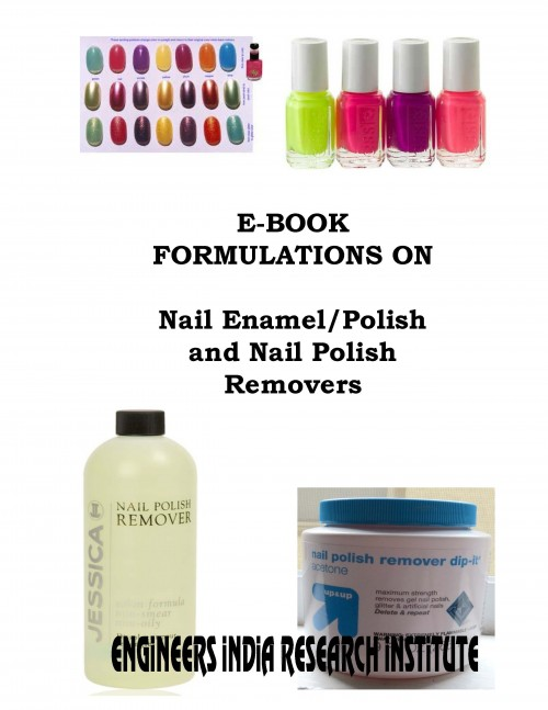 Project Report On E Book Formulations On Nail Enamel Polish And Nail
