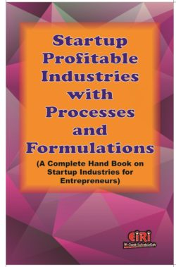 Project reports and profiles to start your industry -